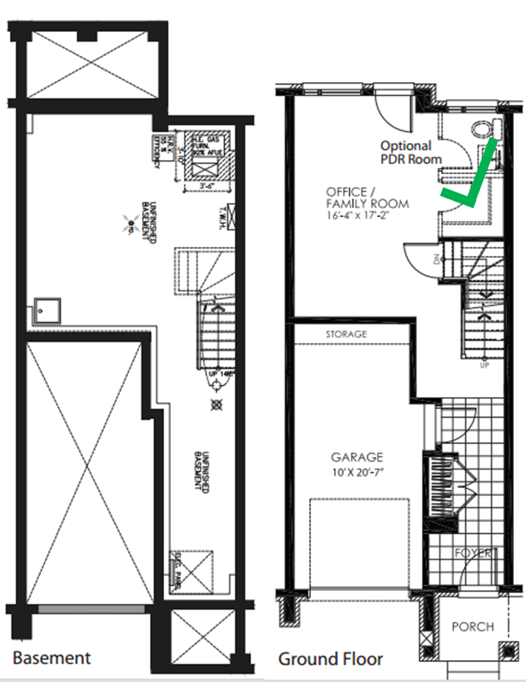 Urban Townhouse Floor Plans