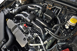 2013 Subaru XV Crosstrek Engine