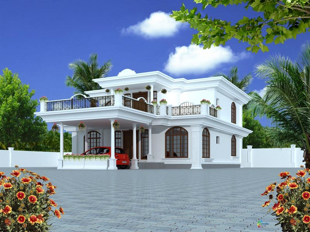 New home designs latest modern stylish homes front Indian house front design photo
