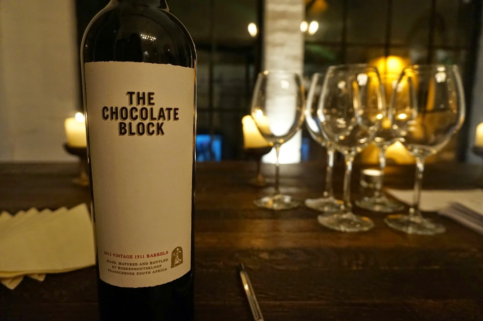 The Chocolate Block Wine