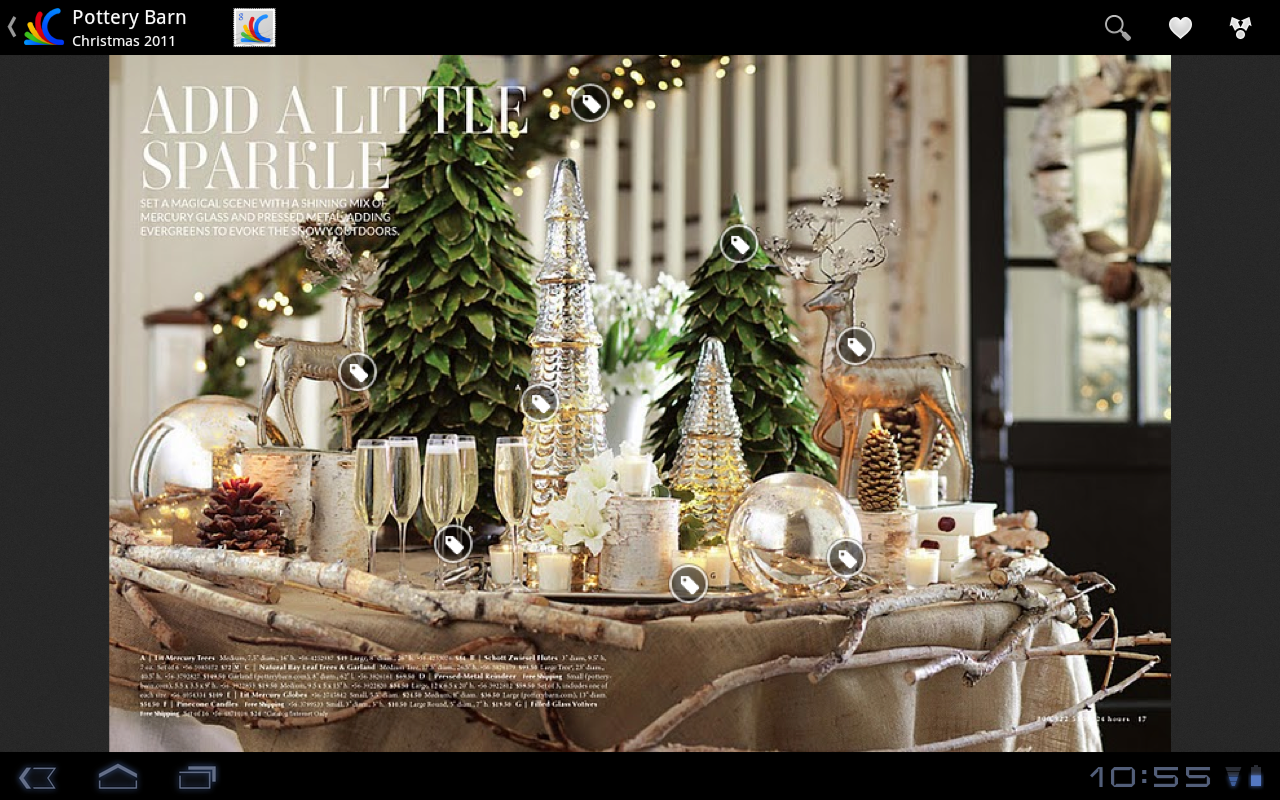 Browse Pottery Barn's Christmas 2011 catalog on Google Catalogs ...