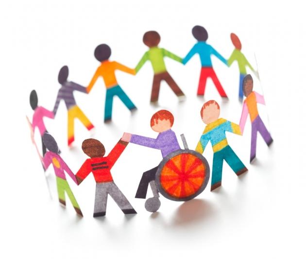 Όλοι διαφορετικοί, όλοι ίσοι, υλικό