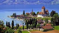Alps Geneva lake
