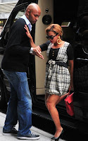 bee3 Beyonce radieuse dans les rues de New-York