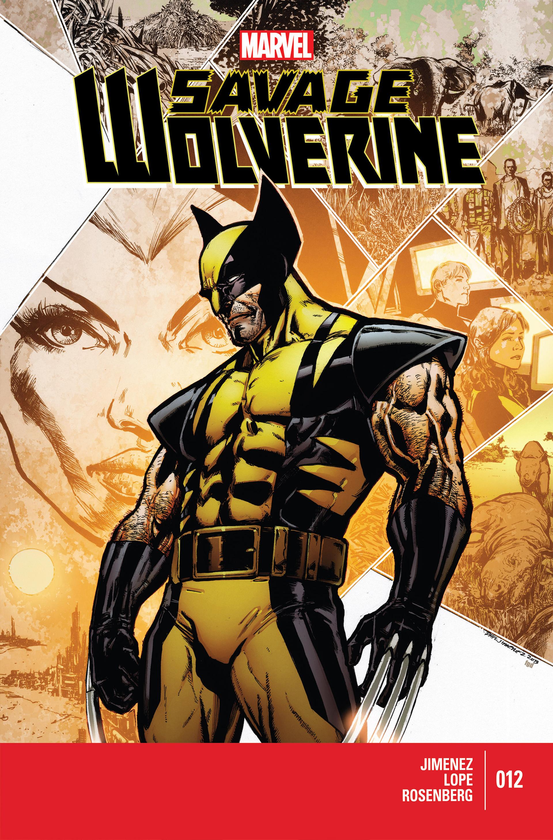 Savage Wolverine 12 Page 1
