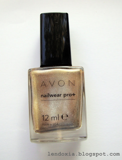 avon nailwear pro+ lak za nokte golden vision