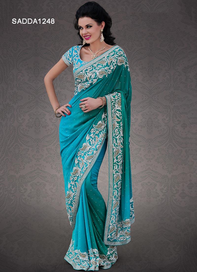New Designer Wedding Sarees   Designers Party Wear Sarees