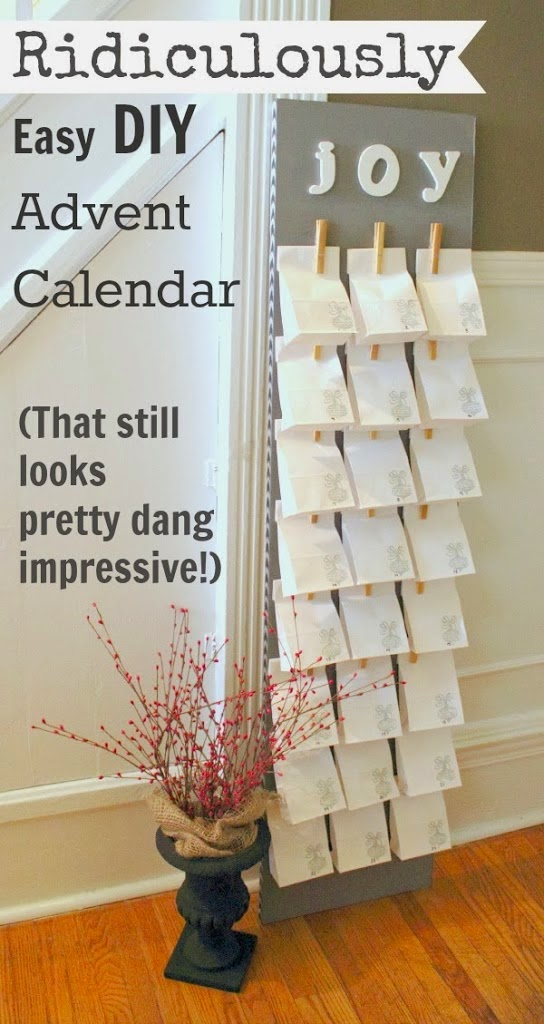 http://creeklinehouse.com/2013/11/ridiculously-easy-diy-advent-calendar.html