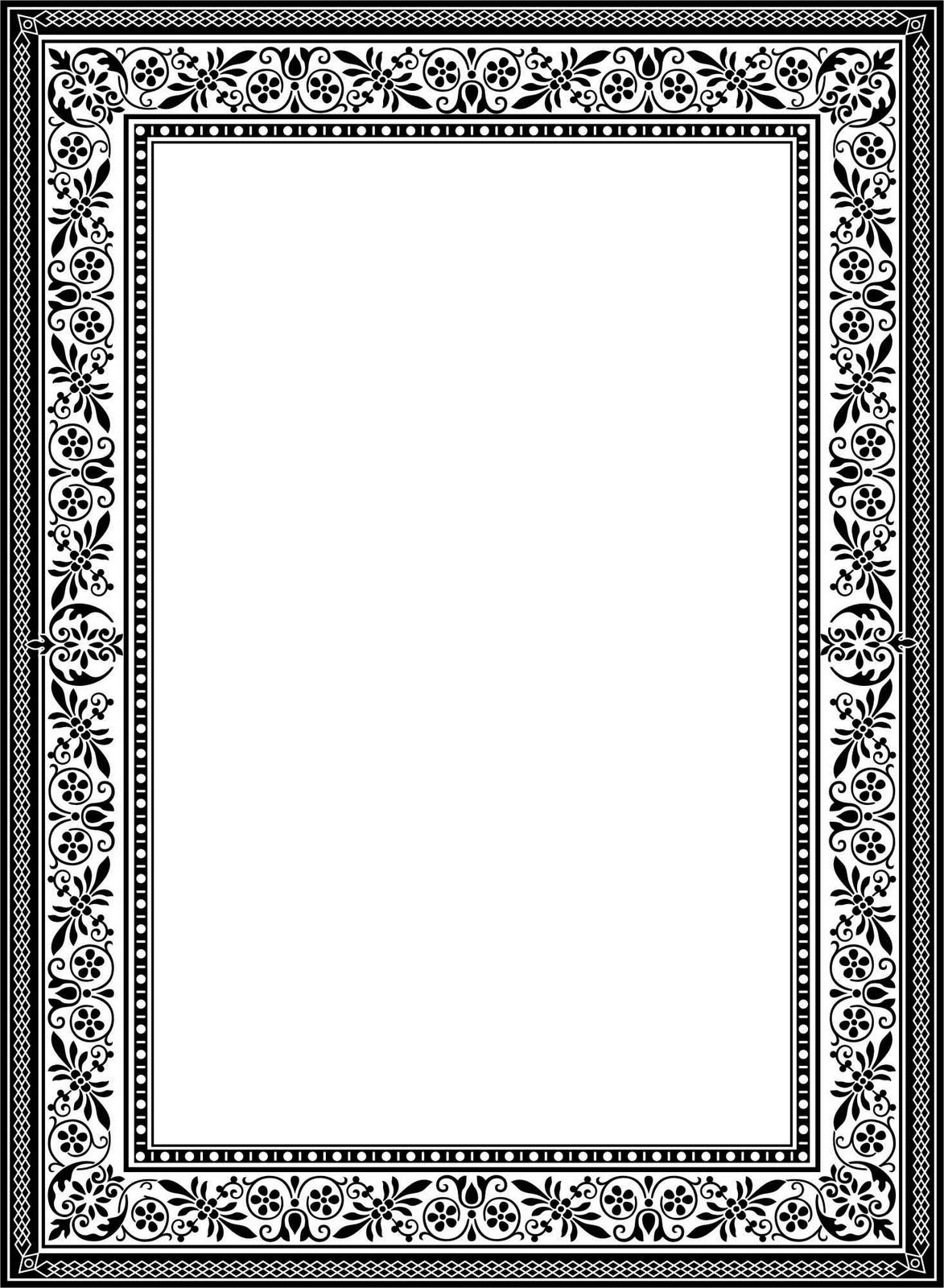 Clipart Bingkai Undangan