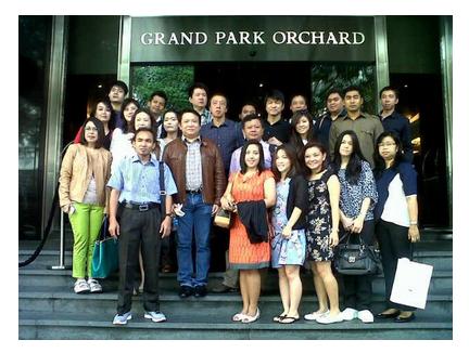 Cipto Junaedy seminar Singapore