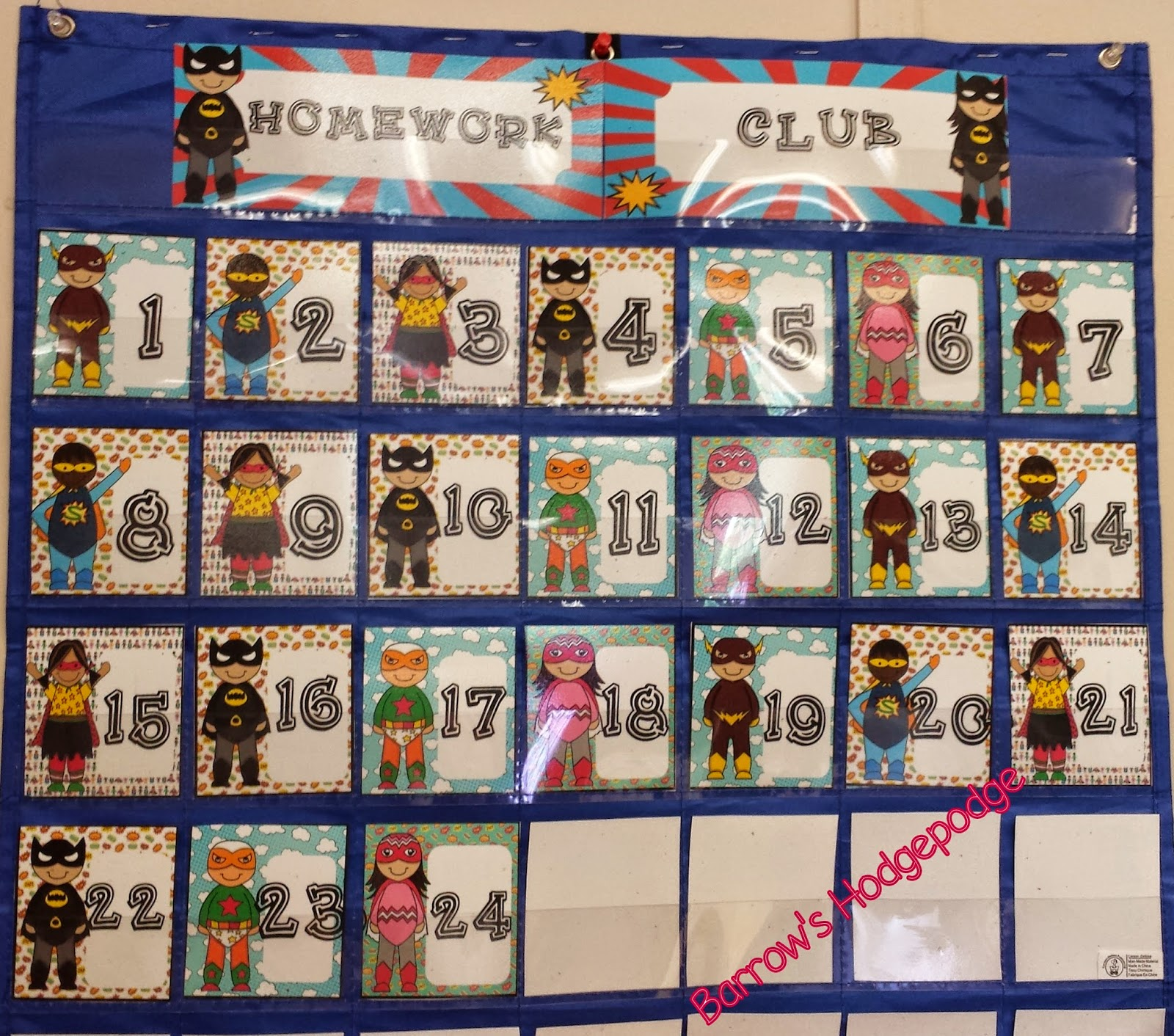 http://www.teacherspayteachers.com/Product/Super-Hero-Homework-Club-1353212