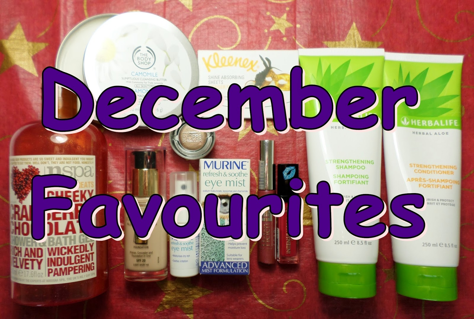 December Beauty Favourites!