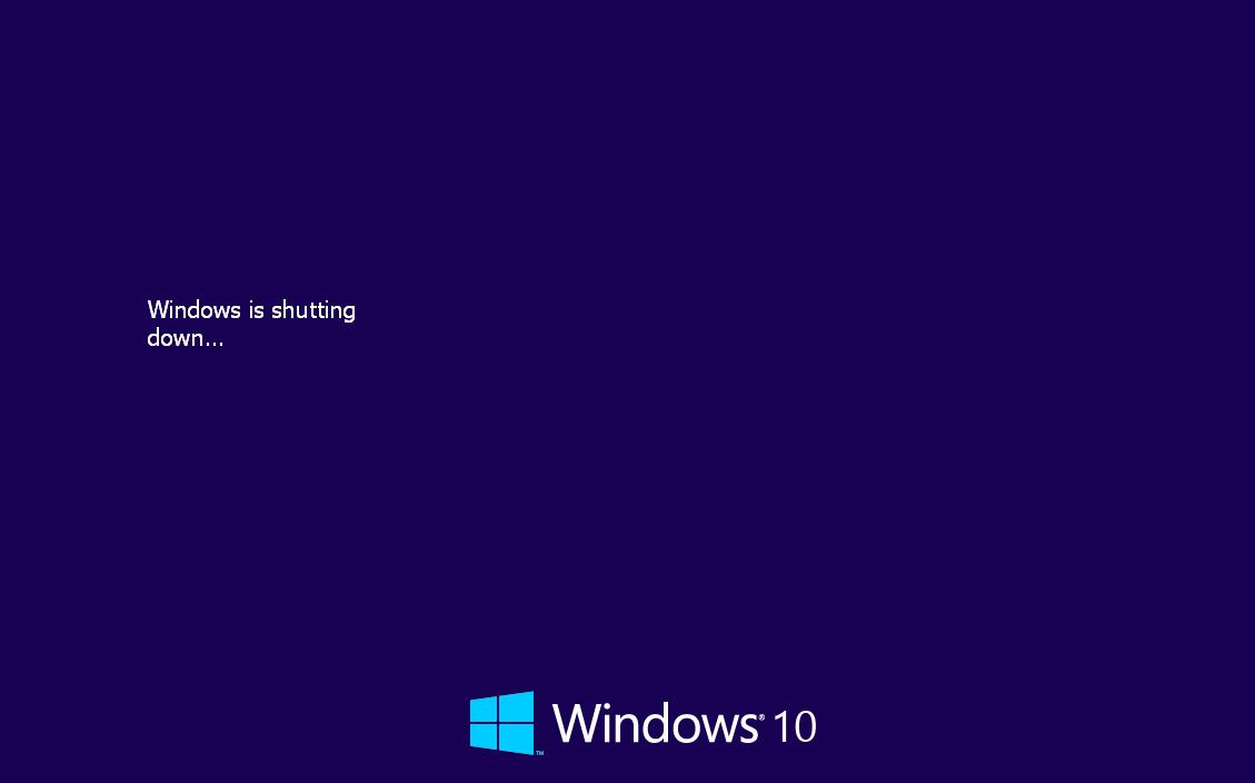 Windows 10 Shut Down Animation for Windows XP