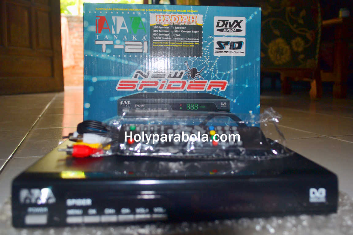 Receiver Tanaka T21 New Spider