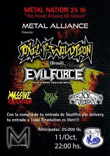 METAL NATION 25th