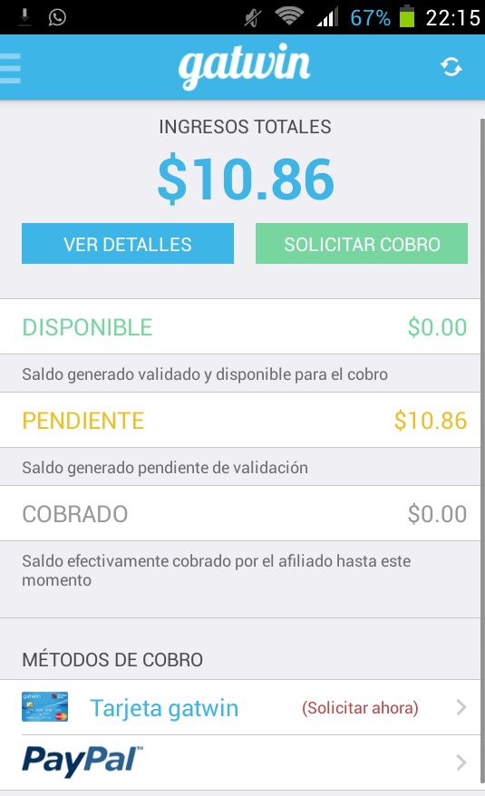 app android gatwin