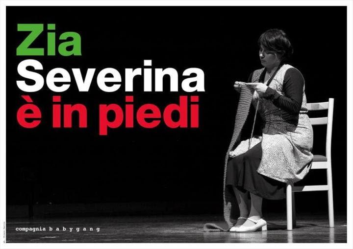 Dal 16 al 19 ottobre al Teatro Sala Fontana di Milano va in scena Zia Severina è in piedi