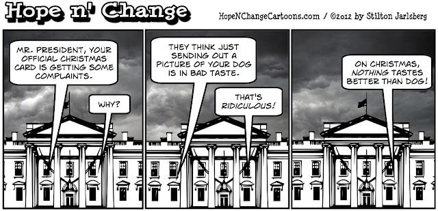 obama jokes, obama, whitehouse, christmas, 2012, bo, obama eats dogs, stilton jarlsberg, hope and change