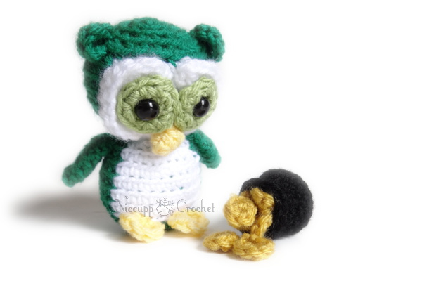 Free Amigurumi Owl Pattern : Free crocheted owl patterns the crochet crowd