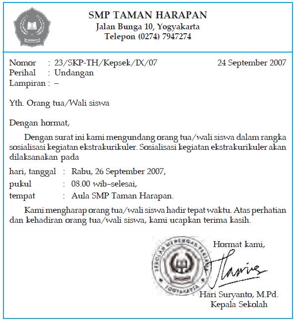 Perbedaan Surat Resmi dengan Surat Pribadi | Cirinya