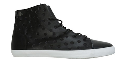 volcom, volom shoes, volcom buzz high top perforated shoe, high top sneakers, volcom high tops, volcom sneakers, black high top sneakers