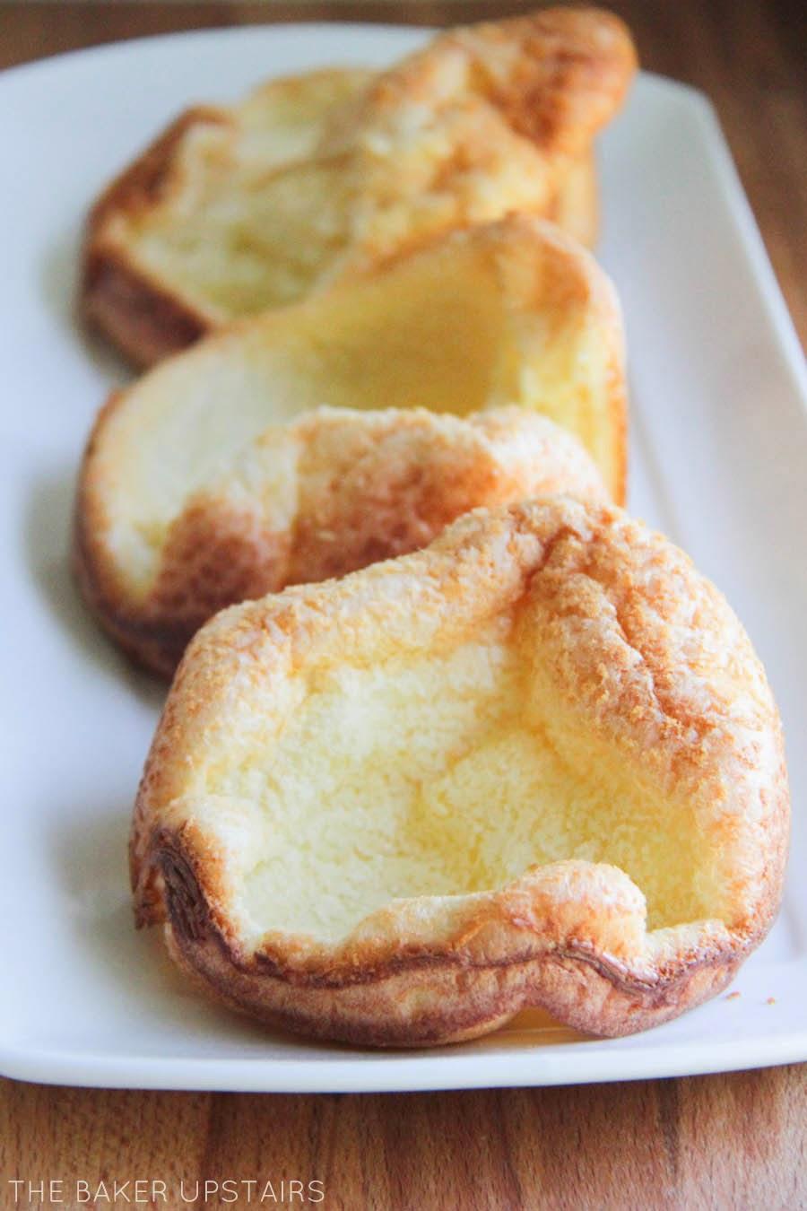 the baker upstairs: mini german pancakes