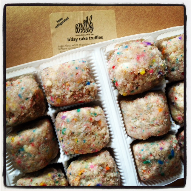 Momofuku Bday Cake Truffles