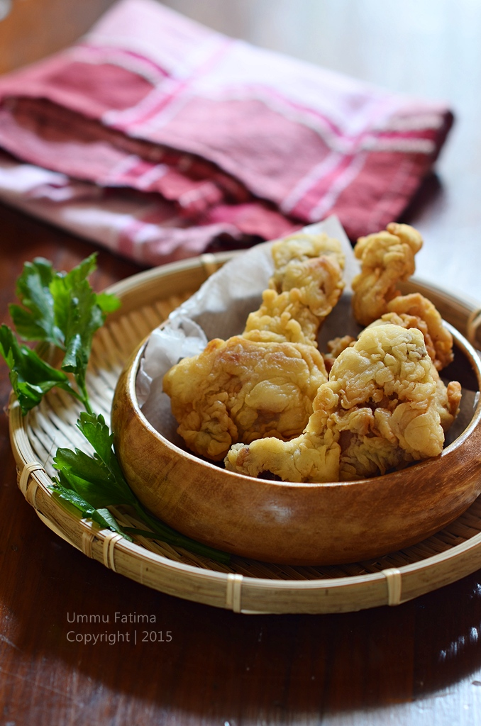 Simply Cooking and Baking: Ayam Goreng Crispy [Tanpa Telur]