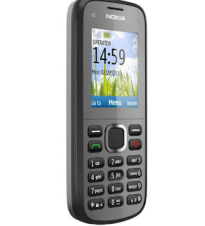 Nokia C1-02 is now available in India for Rs 2394.