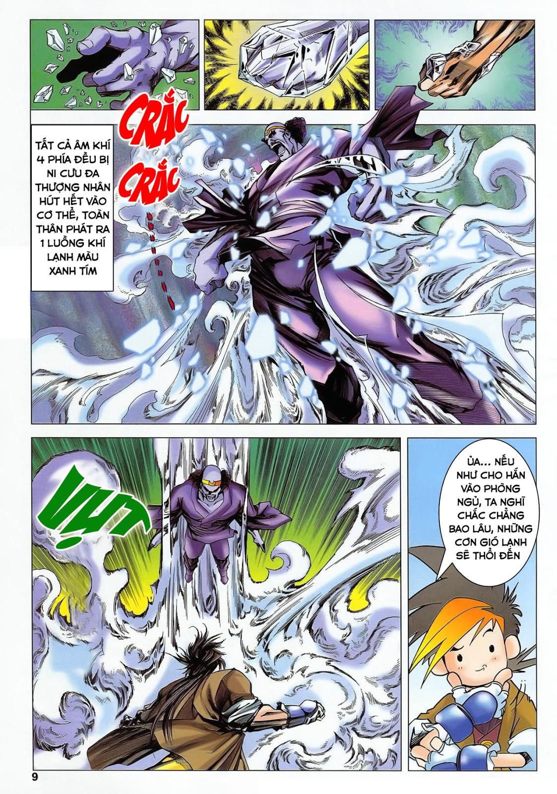 Lục Đạo Thiên Thư chap 36 - Trang 9