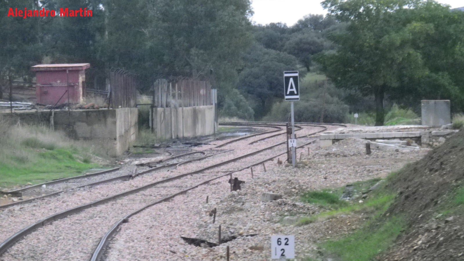 Estaciones de ferrocarril de espa a villanueva del rey for Villanueva del rey