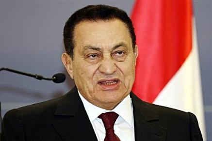 Hosni Mubarak!!! akhirnya letak jawatan