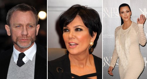 "Kris Jenner Responds To Daniel Craig's ""f***ing idiot"" Comment!"