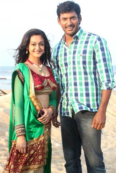 vishal aishwarya arjun pattathu yaanai movie working stills2