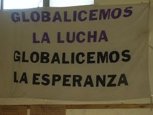 Globalicemos la lucha - Globalicemos la esperanza