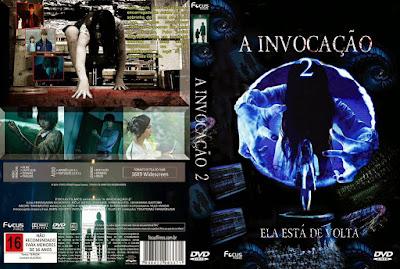 Filme A Invocação 2 DVD Capa