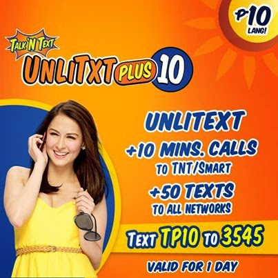 TNT UnliTxtPlus10 - TP10