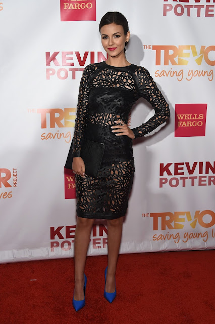 Singer, Actress @ Victoria Justice - TrevorLIVE event in New York