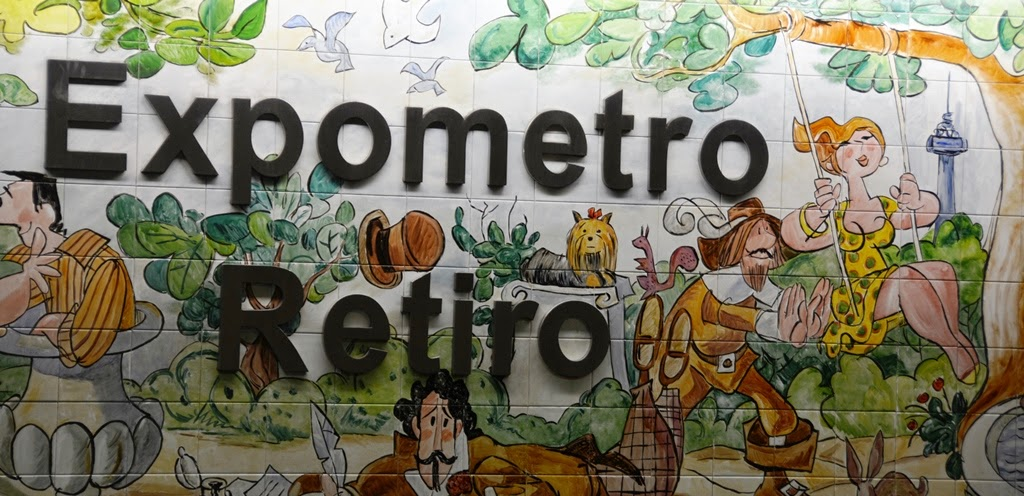 Madrid Metro Retiro