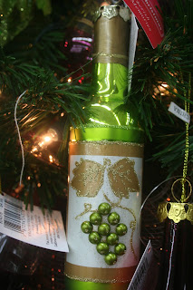 Wine Bottle Ornament
