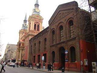 Iglesia La Merced - Santiago