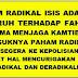 WASPADA FAHAM RADIKAL ( ISIS )
