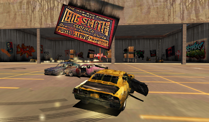 Total Destruction Derby Racing Gameplay