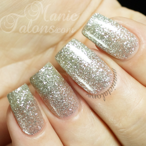 Pink Gellac by Chickettes Fabulous Silver Swatch