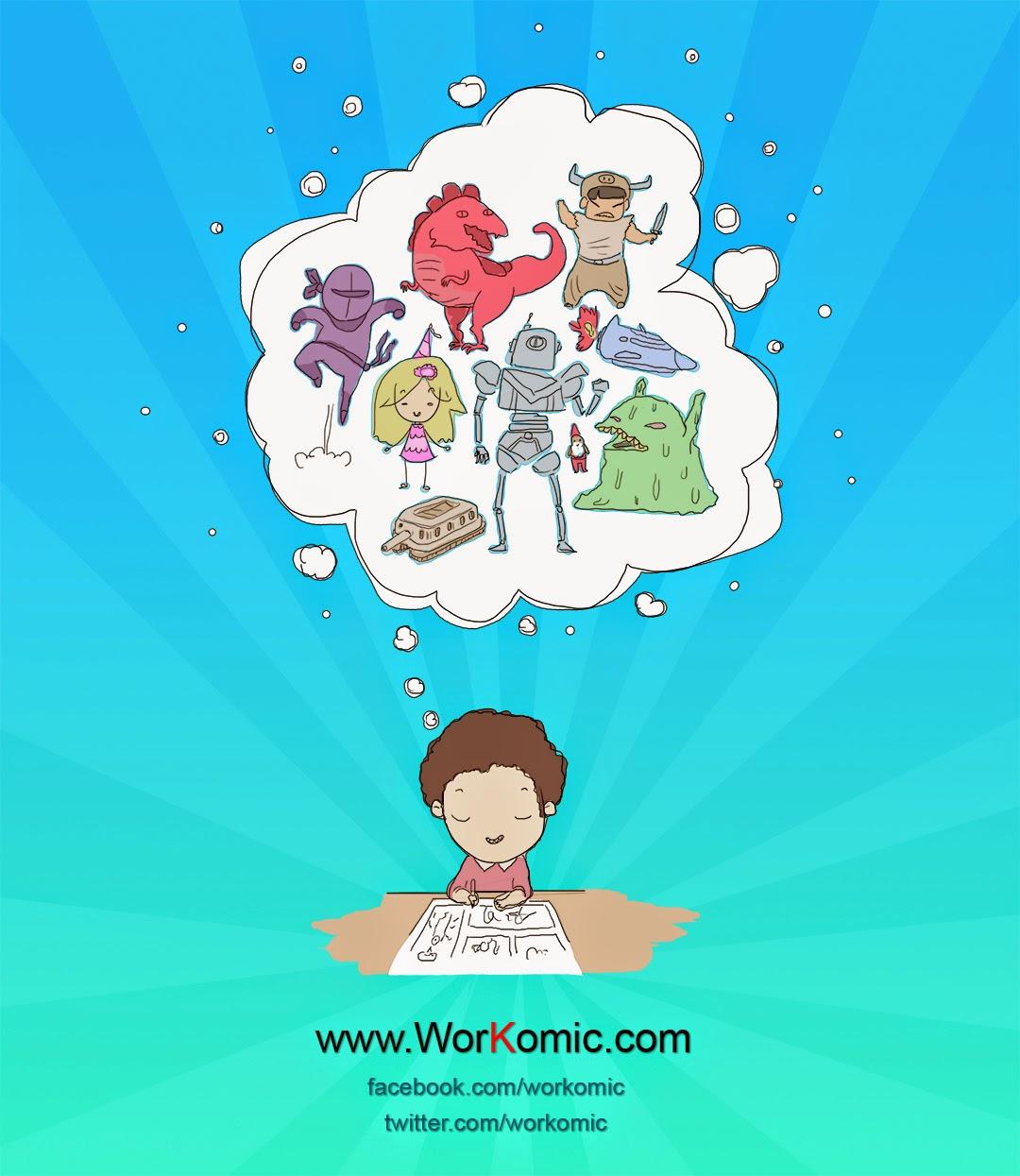 ¡Comparte tu cómic en WorKomic!