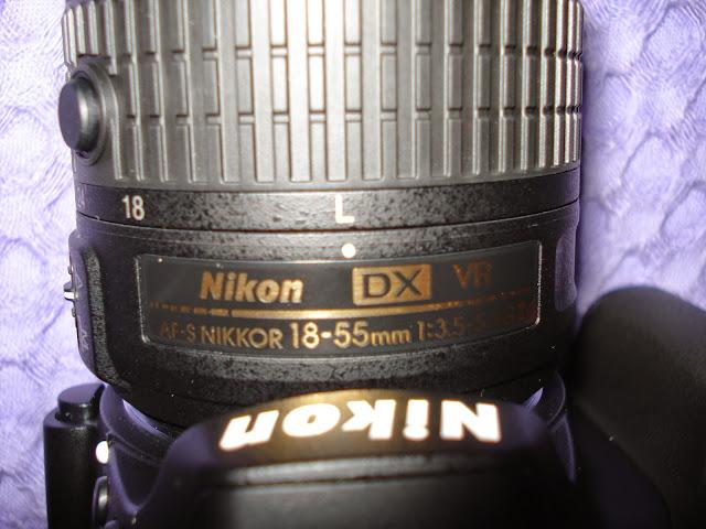 AF-S 18-55mm f/3.5-5.6G DX VR II lens