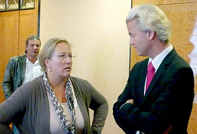 Berlin, Sept 3 2011: ESW and Geert Wilders