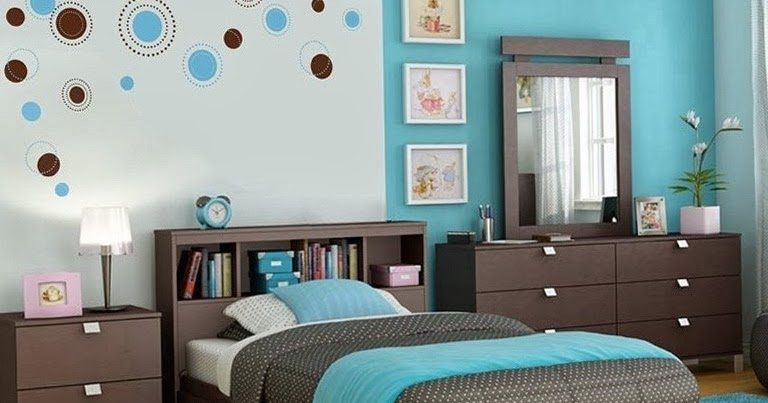 Dormitorio turquesa dormitorio juvenil color turquesa - Dormitorio juvenil nino ...