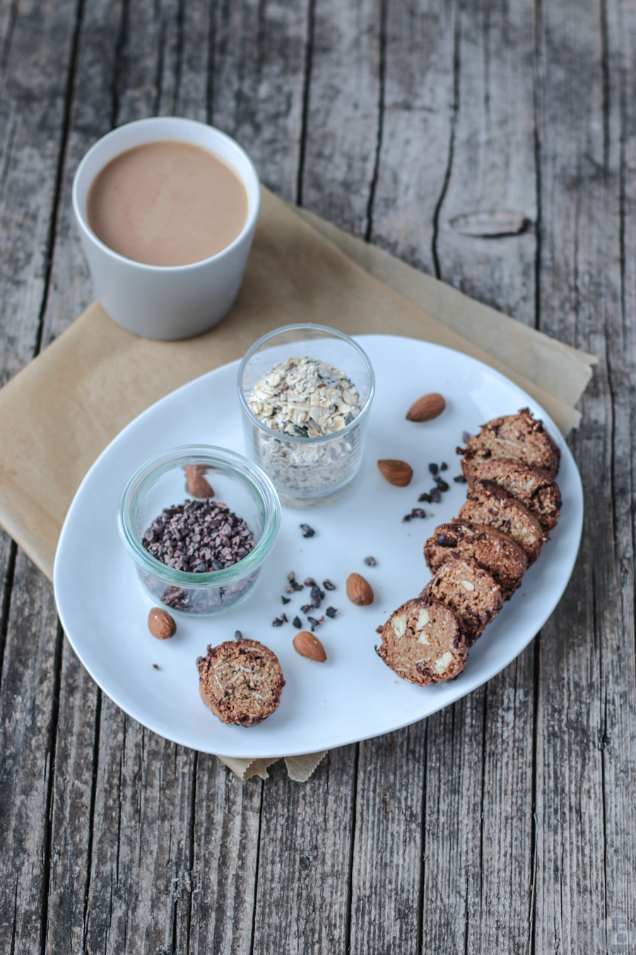 Nut & Cocoa Nib Cookies