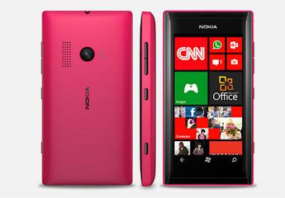 Spesifikasi Nokia Lumia 505